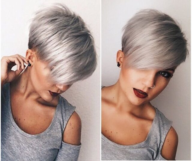 Edgy Asymmetrical Hairstyle