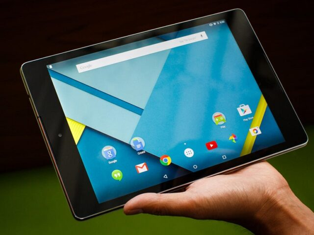 Google Nexus 9 is the first tablet