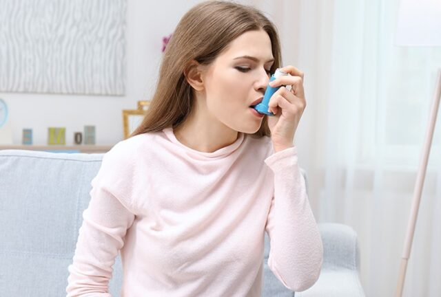 Reduces the asthma attacks