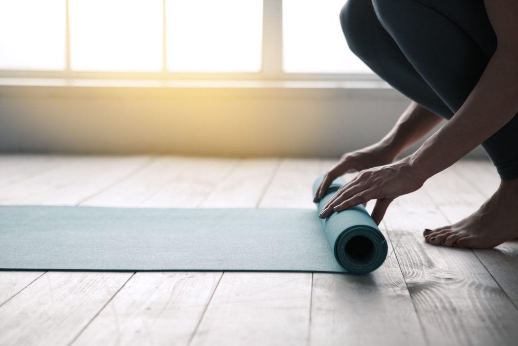 on and off mat yoga