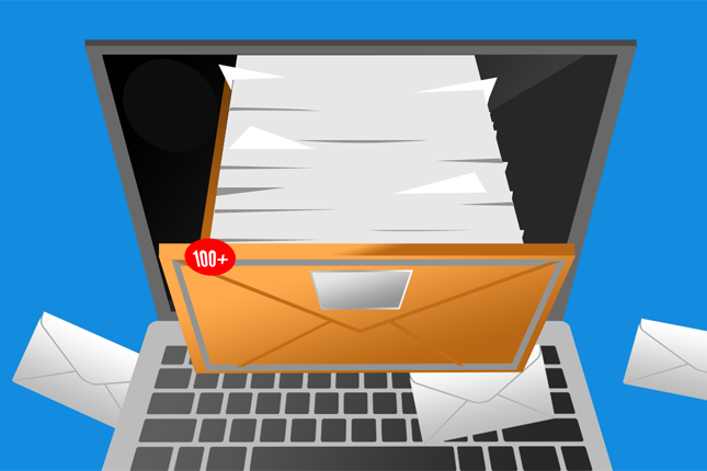 Difference between junk emails and useful emails