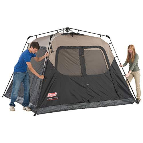 Features of the Coleman 6-Person Instant Cabin Tent