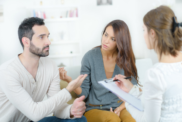 If you can discuss with your former partner or finances and how you will approach the divorce