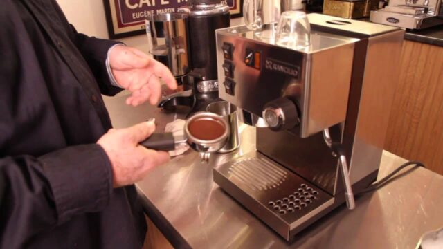 Making of the coffee machines