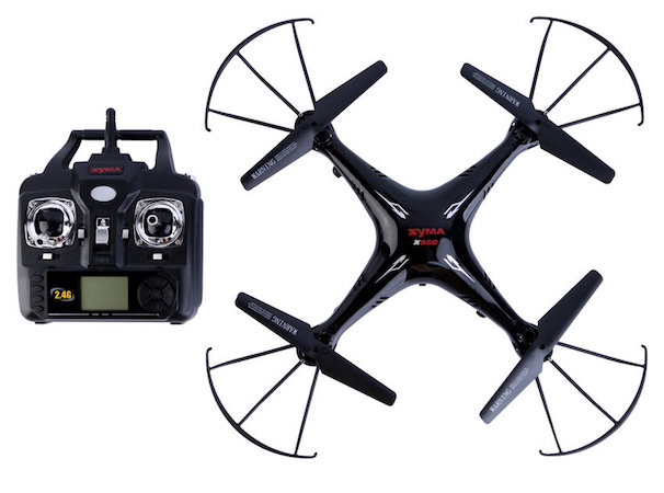 Size and speed of the drone
