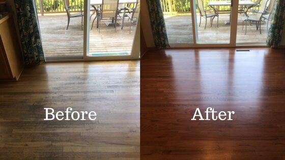 Steps involved in Refinishing Hardwood Floors