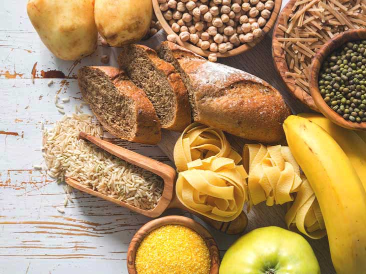 What are the carbs rich in foods