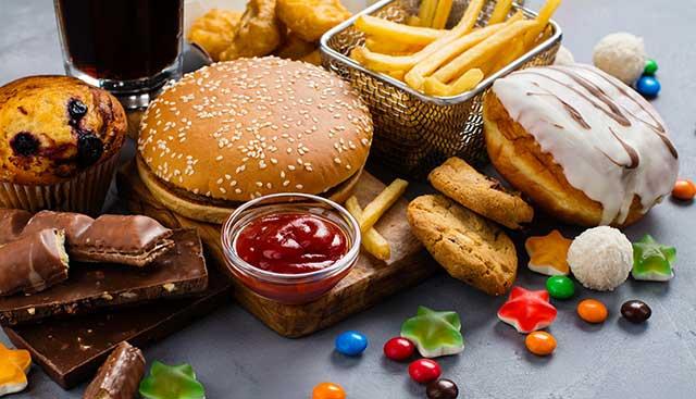 sugar content food items