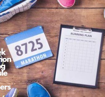 16 Week Marathon Training Schedule for Beginners