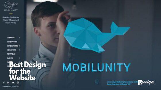 Best Design for the Website