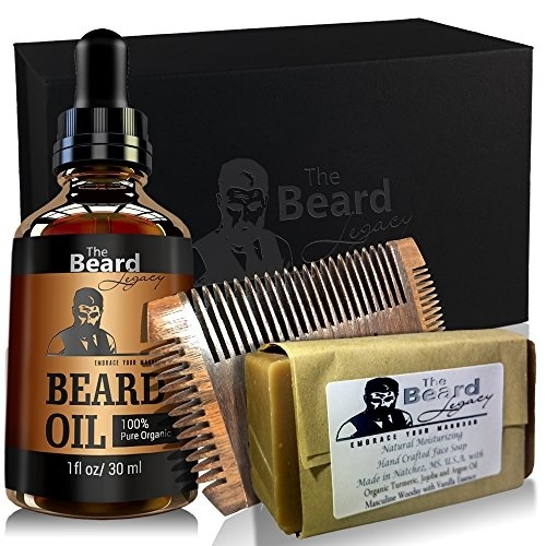 Mustache Trimmers And Mustache Oil