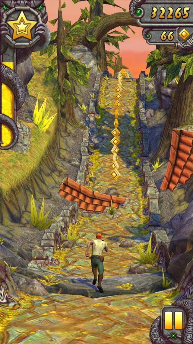 Temple run 2 is very much similar