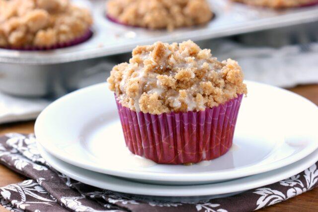 The pumpkin cake muffins
