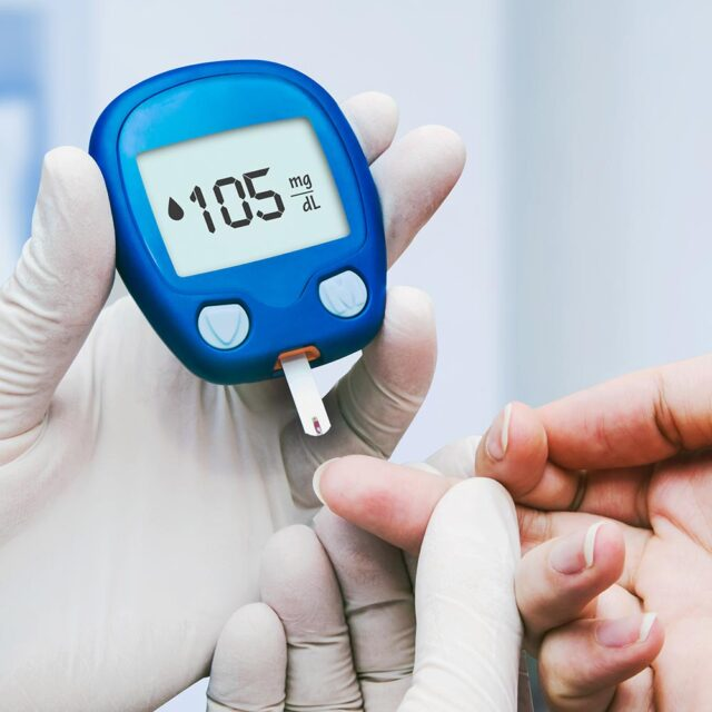 suffering from Type 2 diabetes for two years