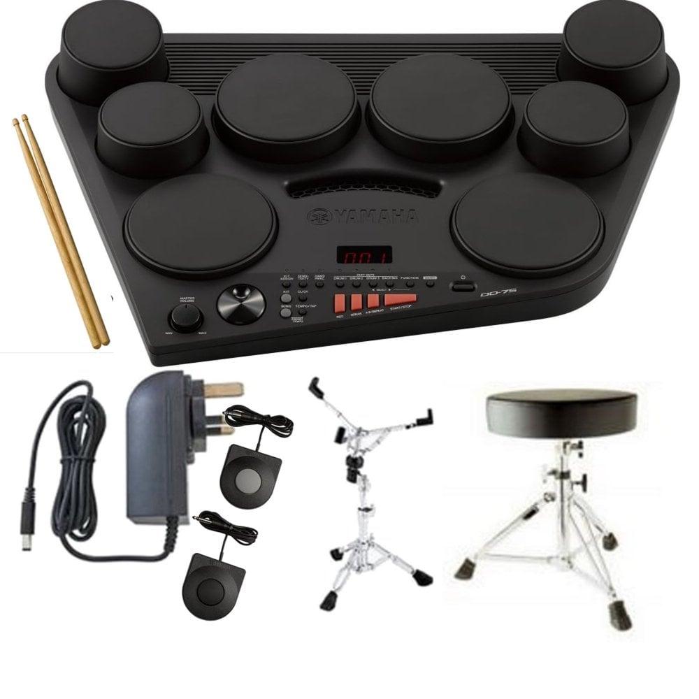 Different variety of drum machines