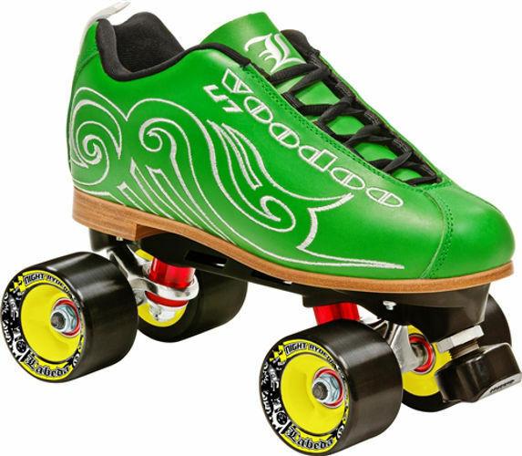 Jackson Phreakskate Ghost Quad Roller Speed Skate - New for 2016