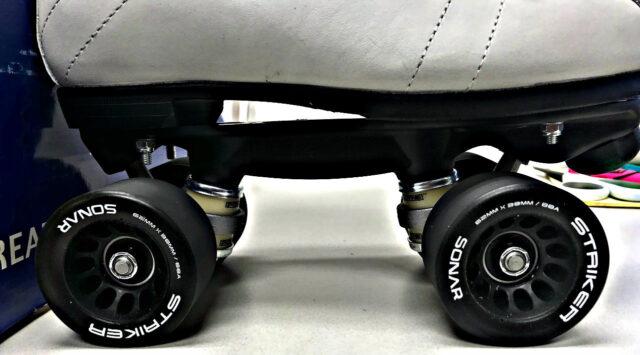 Riedell R3 Jam Skates Quad Skates – White